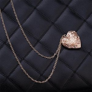NWOT Beautiful Gold Heart Locket Necklace